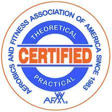 AFAA Certified