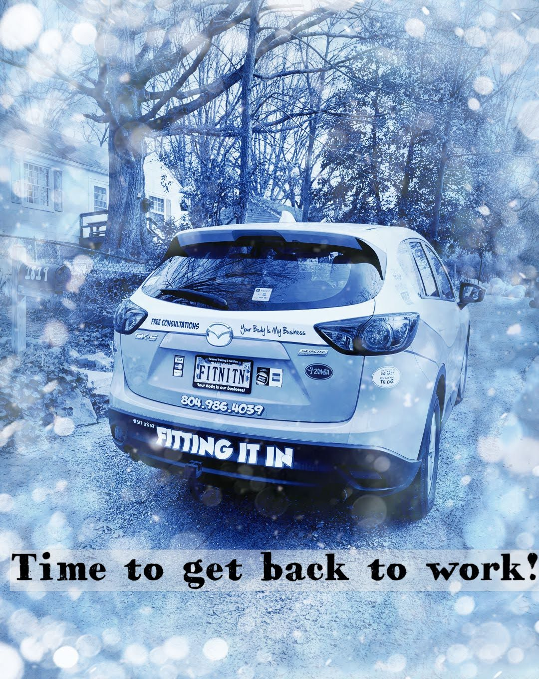 Winter Time to work